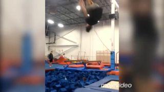 Moje prvé salto!
