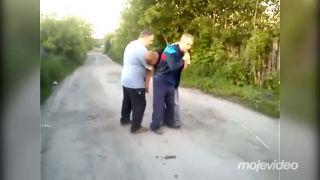 Sergej a Voloďa stretli starého známeho