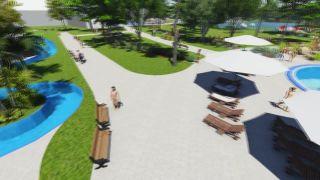 Thermalpark Nitrava - sadovnícko - architektonický návrh