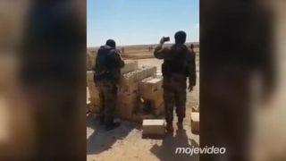 4 teroristi sa prišli vzdať na kontrolný bod (Sýria)