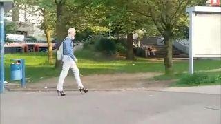 Nemecká móda (natočil ruský turista)