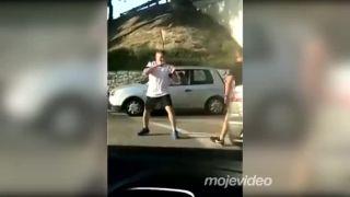 Cestná pomsta v štýle kung fu (Španielsko)
