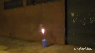Raketový pozdrav pre obyvateľov 7. poschodia (Rusko)