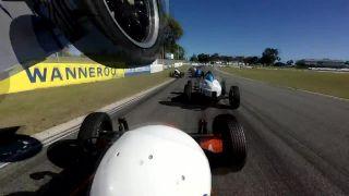 """""""Vývrtka"""" počas pretekov Formula Vee (Austrália)"""