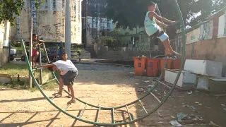 Medzičasom na ihrisku v Rio de Janeiro
