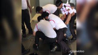 MMA zápasník si prišiel po dlžobu (Malajzia)