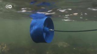 Šikovná vrecková vodná elektrárnička