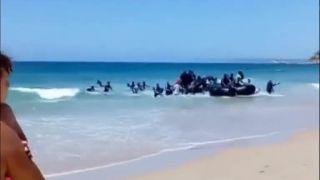Vylodenie afrických nájazdníkov v Španielsku