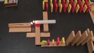 Domino a oheň