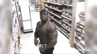 Kulturista objavil v obchode bezpečnostnú kameru