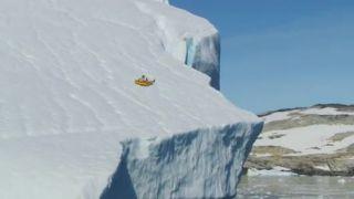 Sánkovačka na ľadovci (Grónsko)