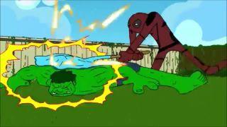 Hulk vs Deadpool