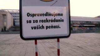 Úprimné dopravné značky v Košiciach