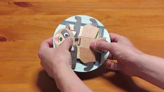 Haruki Nakamura posunul origami na ďalší level