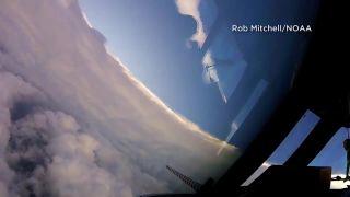 Let do oka hurikánu Irma
