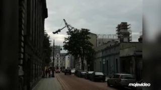 Žeriavnik to už nerozdýchal! (Poľsko)