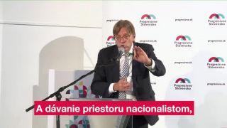 Ako bojovať proti migrácii a terorizmu v EU (Guy Verhofstadt)