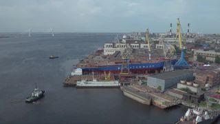 Ruský atómový ľadoborec Sibír bol spustený na vodu
