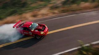 Driftovačka na Toyote GT4586 s motorom z Ferrari