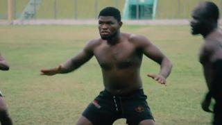 Ghanská haka má naháňať strach (rugby)