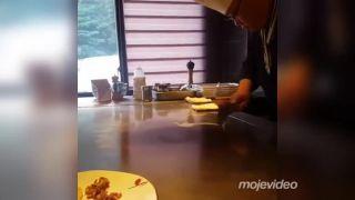 Ten ale vie narábať s vajciami! (Japonsko)