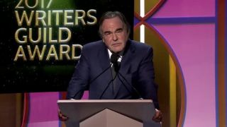 Prejav Olivera Stonea na Writers Guild Awards 2017