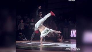 Pocket Kim a jeho najlepšie breakdance vystúpenie